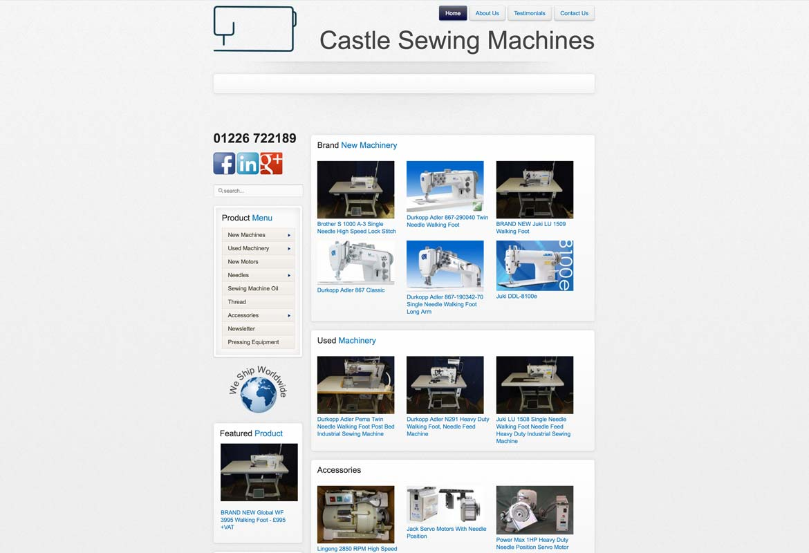 Castle Sewing Machines
