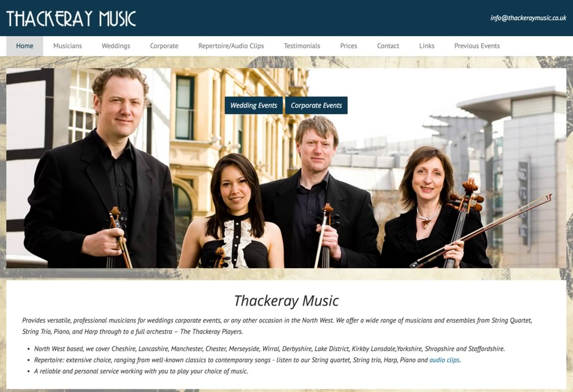 Thackeray Music